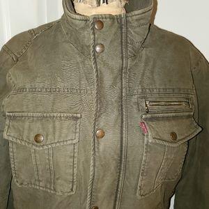 Levi's unisex denim jacket size S EUC